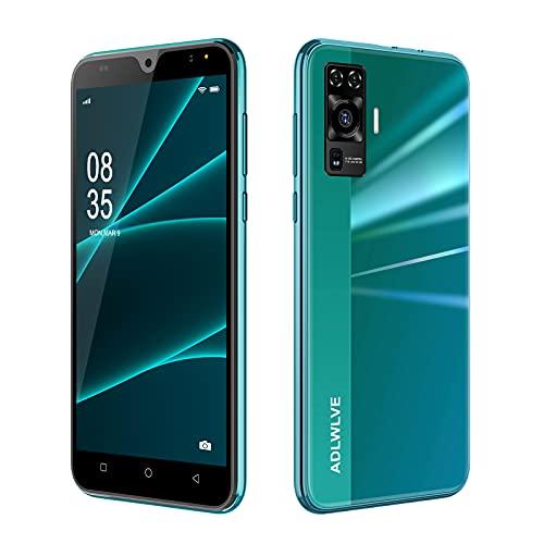 4G Smartphone Offerta del Giorno,2GB RAM 16GB ROM,5.5 Pollici Waterdrop Android 9.0 Cellulari e Smartphone 8MP Fotocamera Telefono Cellulare con Wifi Dual SIM 3600mAh Cellulare Offerta (Verde)