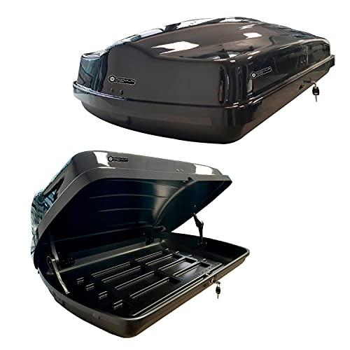 Altro Modula Box da Tetto Baule Portatutto (Nero, Nova 430LT)