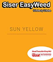 Siser EasyWeed アイロン接着 熱転写ビニール - 15インチ 1 Foot ブラック HTV4USEW15x12IN