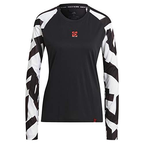 adidas Five Ten Damen 5.10 The Trail Longsleeve Trikot, Black