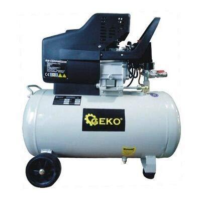 Geko g80301 afvalbak olie gesmeerd compressor 8 bar, veelkleurig