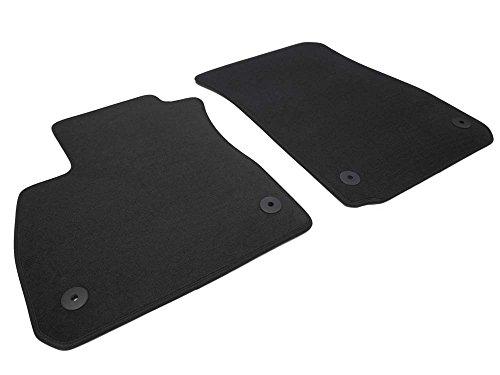 kh Teile Fußmatten Mokka X Velours Automatte Original Qualität 2-teilig vorne schwarz