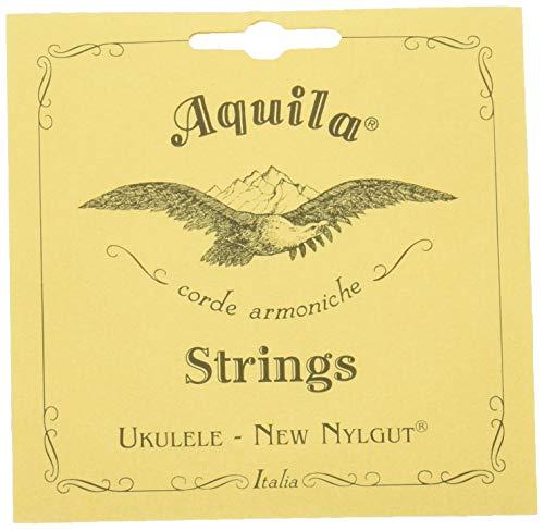 Aquila 8U Aquila Konzert-Ukulele-Satz 8U, New Nylgut, Tiefe G-Stimmung, Key of C, GCEA, Saitenlänge 76 cm