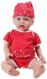 IVITA Full Body Silicone Reborn Baby Doll Realistic Newborn Baby Doll Twins Lifelike Blue Eyes Boy and Girl for Kids Doll ...