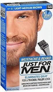 Best just for men mustache & beard brush in color gel Reviews