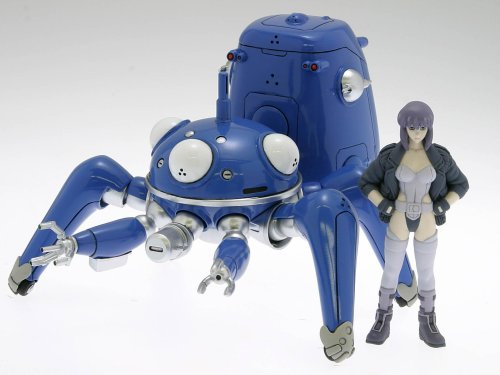 Ghost in the Shell S.A.C. Wave 1/24 Scale PVC Action Figure Tachikoma with Motoko