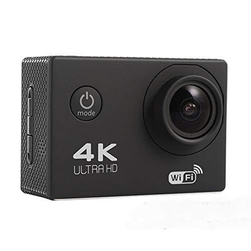 DW007 Webcam PC Camera wasserdichte Action Helmkamera Mit Geeignet Als Tragbare Auto-Kamera-Haustier-Baby-Babyphone Oder Luftbildkamera,Schwarz