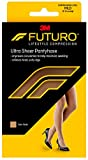 Futuro Pantyhose for Women, Mild Compression, 8-15 mm/Hg, Helps Improve Circulation to Help Minmize Swelling