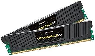 Corsair Vengeance Low Profile - Módulo de Memoria XMP de Alto Rendimiento de 16 GB (2 x 8 GB, DDR3, 1600 MHz, CL 9), Negro (CML16GX3M2A1600C9)