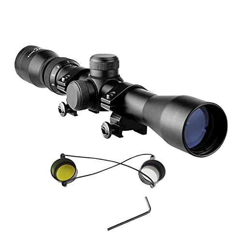 Svbony SV176 Mira Telescopica,3-9X32 Visor Telescopico 20mm Rieles Montar Aluminio Solo Apto para Actividades Deportivas al Aire Libre