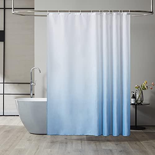Furlinic 180x180 Duschvorhang Anti-schimmel in Badezimmer Vorhang für Badewanne Dusche Textile Vorhänge aus Stoff...
