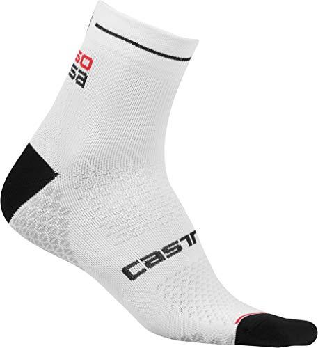 Castelli Damen Rosa Corsa 2 Socken Fahrradsocken