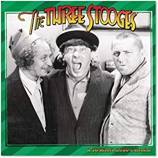 BUY ONE 2020 THE 3 STOOGES CALENDAR AND GET A FREE YEAR PLANNER AND 4 FREE HANDMADE XMAS CARDS(TWENTY FIVE DOLLAR VALUE)- YOU CAN ALSO ORDER A CALENDAR PLANNER 2019-20
