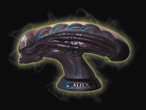 Alien Collector's Head inkl. Alien - Quadrilogy [Limited Edition] [9 DVDs]