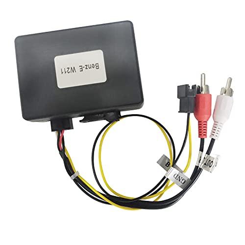 BOOYES Optical Fiber Decoder Most Box for Car Stereo Radio Mercedes Benz E CLS SLK SL S CL Series (W219 W211 W171) (>2008)