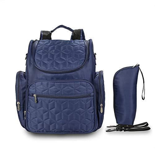 BGKJ Style Mumien-Tasche, große Kapazität, multifunktionales Nylontuch, zum Aufhängen von Baby-Kinderwagen, Mutter- und Kleinkinder-Rucksack, verschenken, Flaschentasche und Kinderwagenhaken