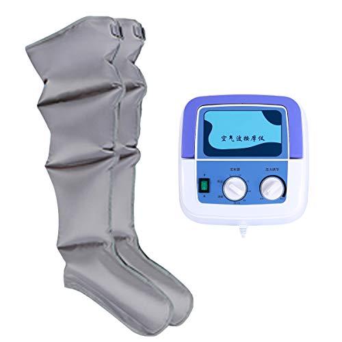 Voetbeen massage-apparaat voor doorbloeding Air Compression kuiten dijbeen, massageapparaat voor spiervermoeidheid, zwelling oed kuitwikkel