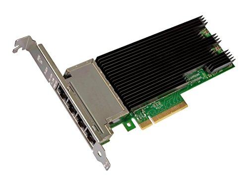 Intel X710-T4 Quad-Port 10 Gb-Ethernet (x4) Converged Network Adapter 100Mb LAN, GigE, 10 GigE