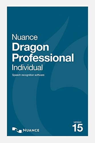 Nuance Dragon Professional Individual 15 - Version complète | Professional | PC | Code d'activation PC - envoi par email