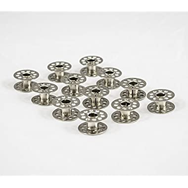 UNIVERSAL METAL SEWING MACHINE BOBBINS PACK OF 24