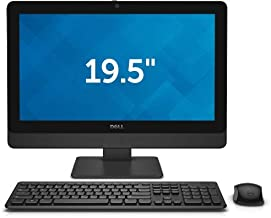 Dell Optiplex 3030 AIO 19.5 - Intel Core i3 4th Gen - i3-4160 - Ghz - 500GB - 4GB RAM - 1600x900 HD+ - Windows 10 Pro