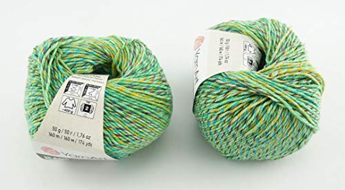 YarnArt Jeans Tropical Garn Baumwollgarn Amigurumi Babygarn Wolle 50g Yarn Art 160m/50g (616)