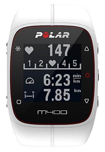 Polar M400 GPS-Laufuhr, weiß, 90051344