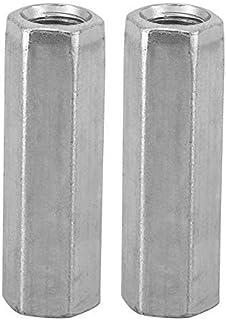 Akozon Distanziali Dadi 10pcs Dado a stelo lungo Esagonale Dado a manicotto esagonale Distanziali filettati M6*30