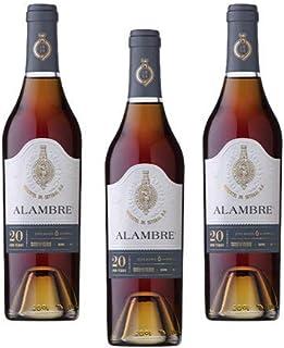 Alambre Moscatel 20 Years 500ml - Dessertwein - 3 Flaschen