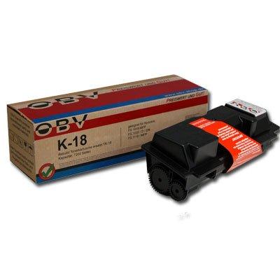 OBV kompatibler Toner ersetzt Kyocera TK-18 / TK18 / TK100 / TK-100 für FS1018 / FS1020 / FS1118 / FS 1018 1020 1118 MFP/KM 1500 / Kapazität 7200 Seiten