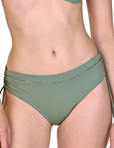 Lisca 41458-65 Women's Ancona Sea Green Bikini Bottom 38