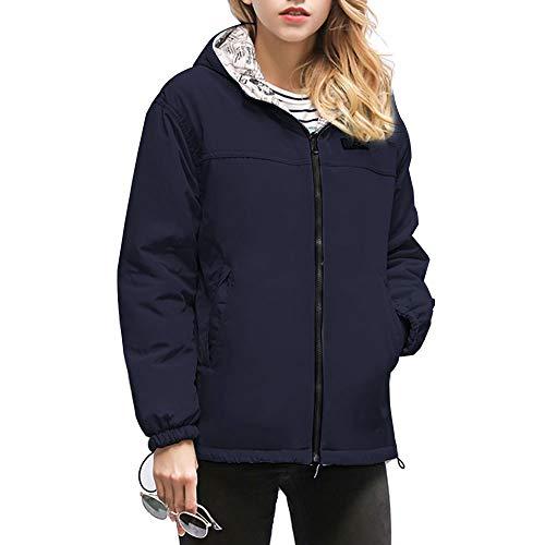 Vertvie dames winterjas lichte donsjas dunne gewatteerde jas vederlicht softdonsjack overgangsjas warm met ritssluiting korte jas