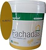 PINTURA FACHADAS COLORES Durcaplast: Revestimiento de fachadas colores mate. Extraordinaria resistencia al roce, máxima resistencia a la intemperie y al envejecimiento. (4L, ALBERO 25)