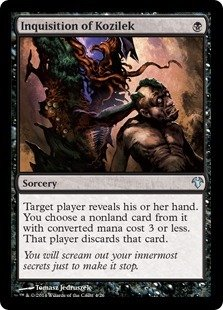 Magic The Gathering - Inquisition of Kozilek - Modern Event Deck Singles