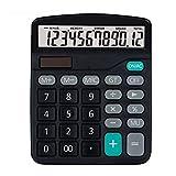 Calculadora precisa de la oficina de la financiación del botón grande de la pantalla grande de la calculadora de la energía dual durable multifuncional