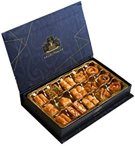 Al Halaby Sweets Imported Assorted Baklava Gift Box 250gram product image