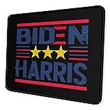 Biden Harris Alfombrilla Antideslizante para Juegos, computadora de Escritorio, computadora portátil, Alfombrilla de Mouse, Borde Cosido