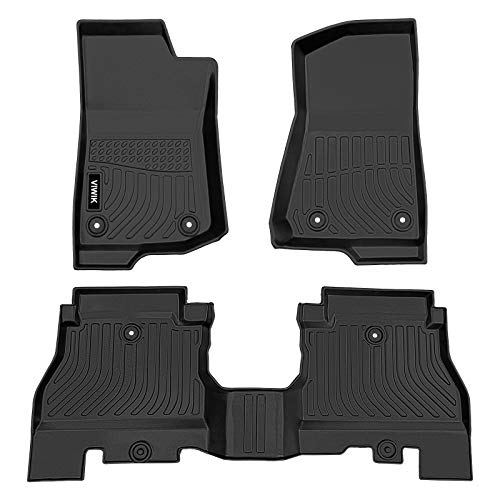VIWIK Floor Mats for 2018-2021 Jeep Wrangler...