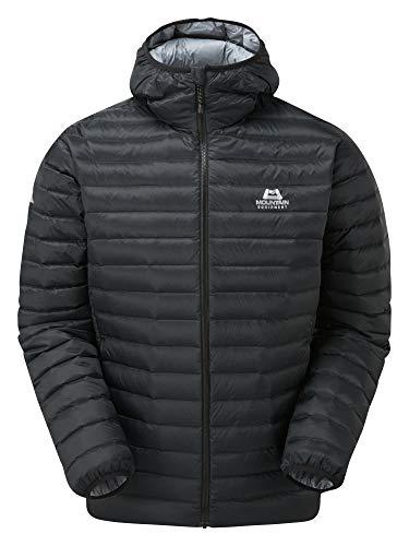 Mountain Equipment M Frostline Jacket Schwarz, Herren Daunen Freizeitjacke, Größe S - Farbe Black
