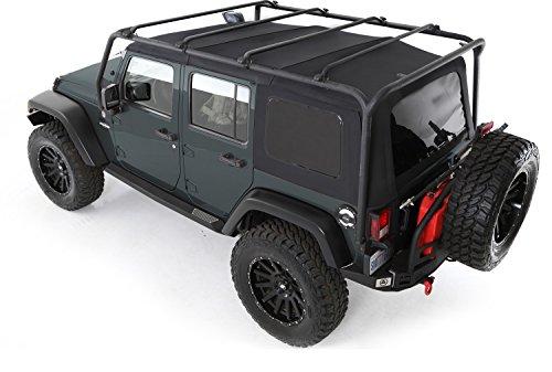 Greggson Off Road 4x4 Smittybilt SRC Portapacchi tettino per Jeep Wrangler JK 4D (2007-2014) SRC Greggson