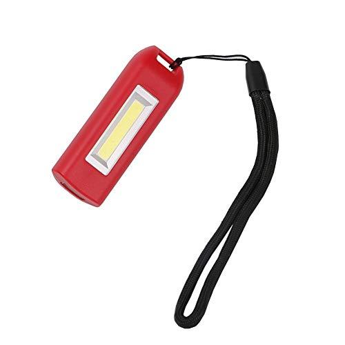 ZMHVOL Llavero Luz Recargable portátil USB sanyi Linterna de Bolsillo LED 3Modes...