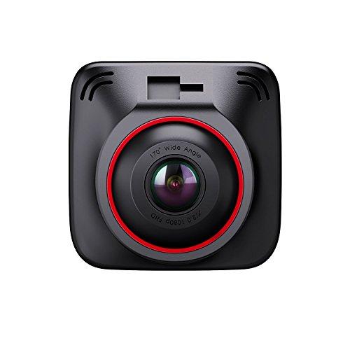 """BC Master Telecamera per Auto, Dash Cam con 3 Porte Smart IC Caricabatteria da Auto, Modulo GPS, Guardia Parcheggio, G-Sensor, Registrazione di Loop, Visione Notturna, 2.0"""" LCD Angolo Ampio, Videoregistratore per Cruscotto dell'Auto"""