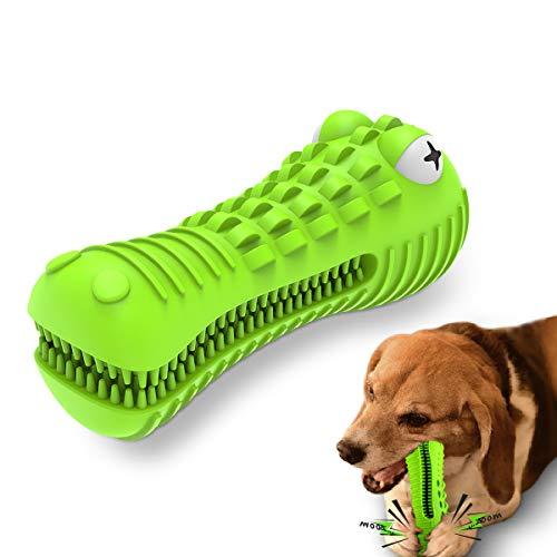 VRTOP Kauspielzeug für Hunde Squeaky Hundespielzeug für große mittelgroße Hunde Robuster Naturkautschuk Kauen für Starke Kauer Natürliches Hundespielzeug