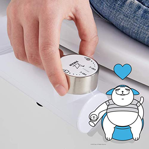 SWAN Bidet Toilet Seat Attachment   Fresh & Elegant Necessity   Adjustable Water Pressure   Dual-nozzle   Non-Electric   Eco-friendly  