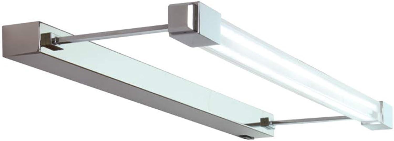 Spiegel-vorderes Licht LED Wasserdicht Anti-fog Einfacher Edelstahl-justierbarer Badezimmer-Spiegel-Scheinwerfer (gre   41cm)