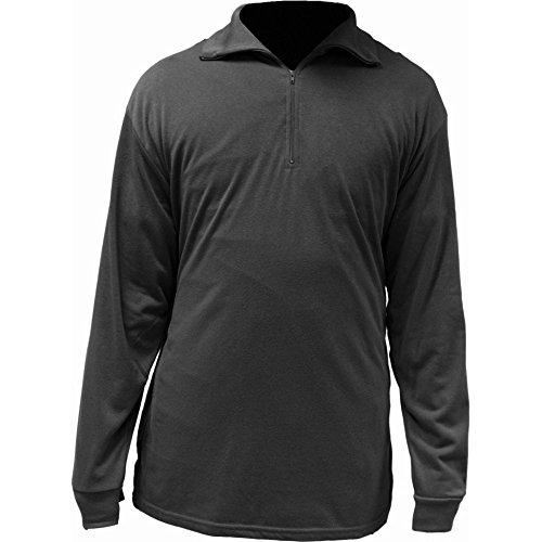 Highlander Mens Norwegian Style Fleece Lined Baselayer / Thermal Shirt