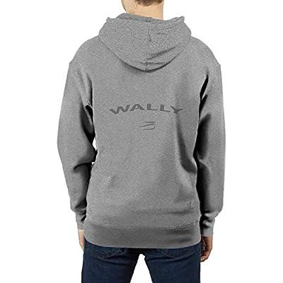 YYWCJ Pullover Hoodie Wally-Logo- Fleece Sweatshirt Hoodies for Men