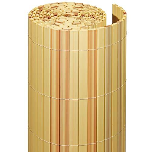Videx-Sichtschutzmatte Rügen, Kunststoff Bambus, 160 x 300cm