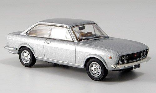 Fiat 124 Sport Coupe, silber, Modellauto, Fertigmodell, MCW-SC20 1:43