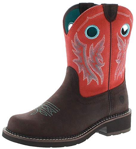 Ariat 23114 Fatbaby Heritage Cowgirl - Botas de equitación para Mujer, Color marrón, Color Marrón, Talla 37 EU